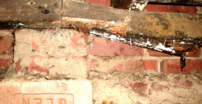 rot in sub floor timbers